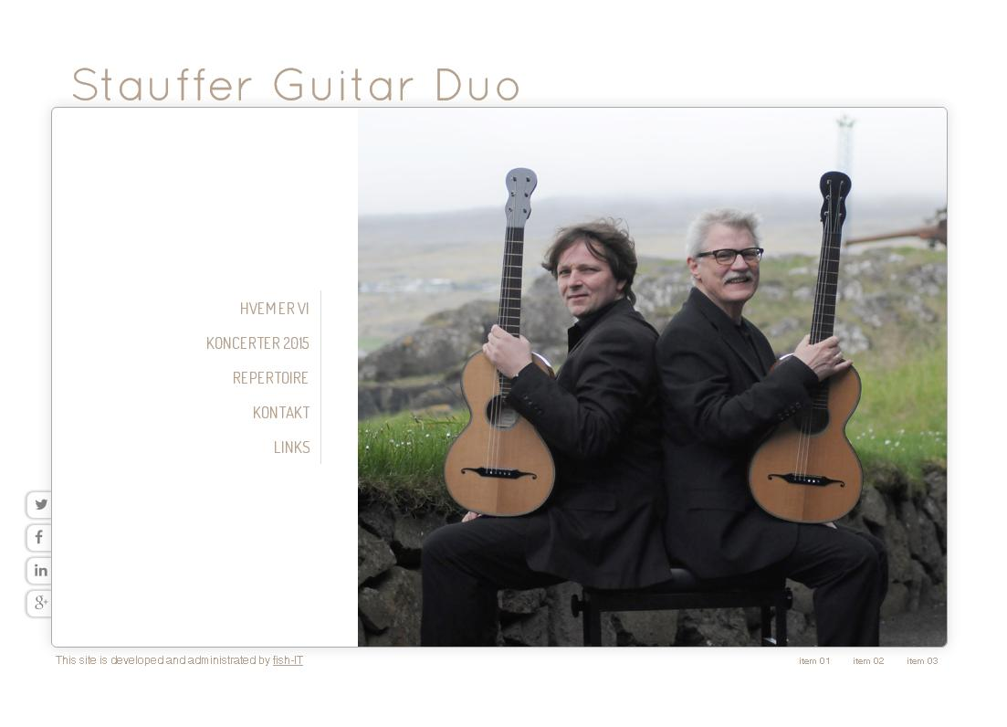 Stauffer Guitar Duo